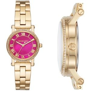 MICHAEL KORS Petite Norie Pink Ladies Watch